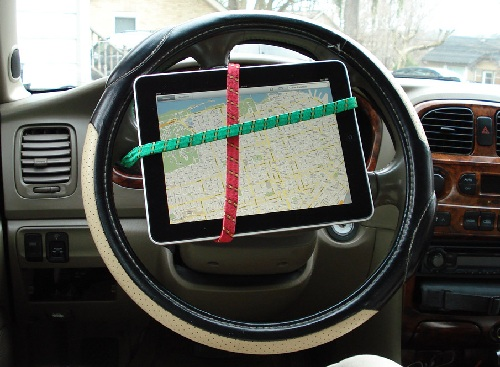iPad as a navigator