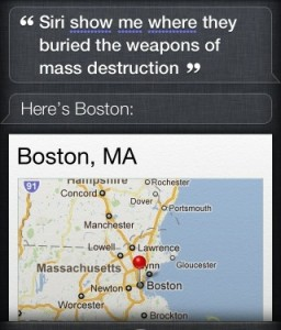 where weapons are burried, siri?