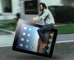 Weird uses of iPad