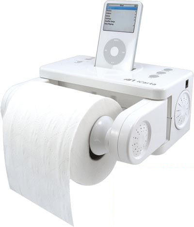 iPod Toilet Dock