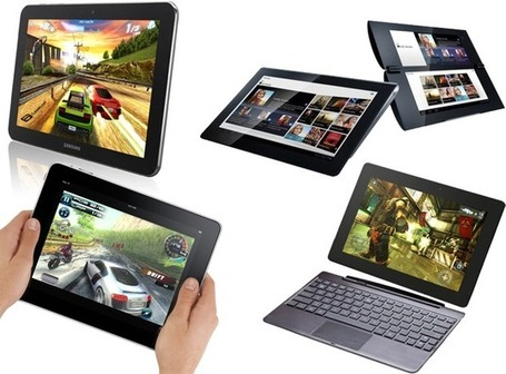 Best tablet computers of 2012