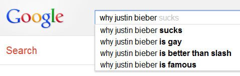 why Justin Bieber...