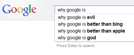 why google is...