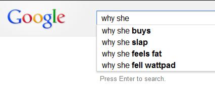 why she...