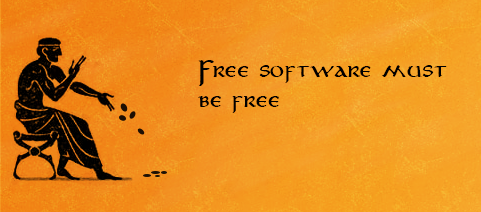 Free software must be free