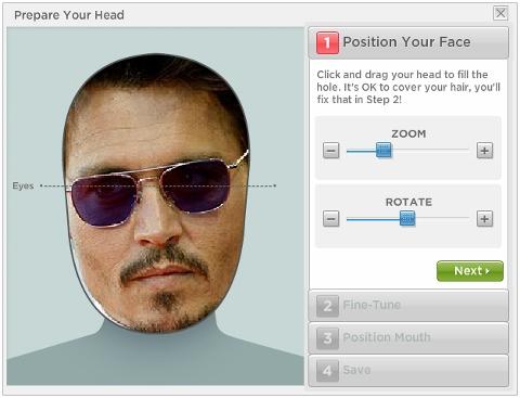 JibJab: Make a face