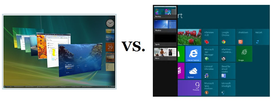 Flip 3D in windows 8