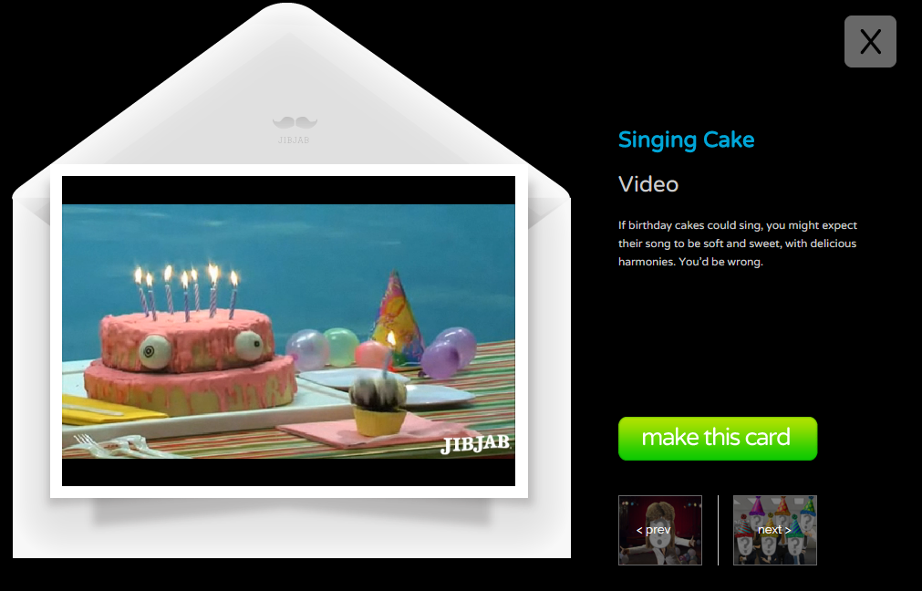 JibJab Free eCards Videos Featuring YOU Freemake – Funny Singing Birthday Cards Free