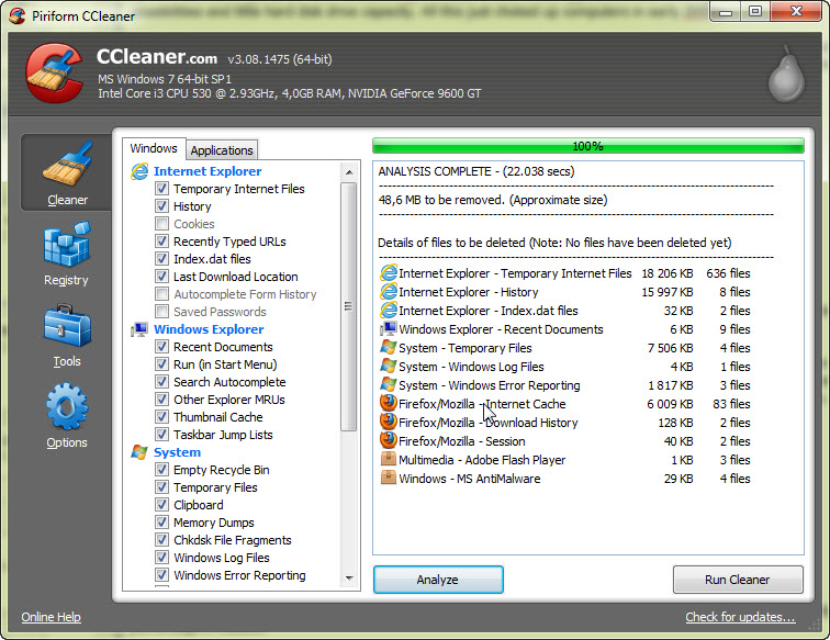 Ccleaner free download rating freeware system