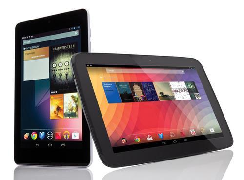 Nexus 7 Nexus 10