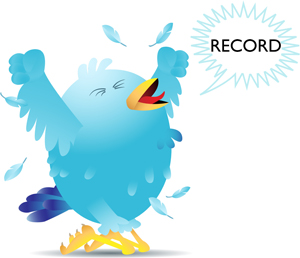 Twitter records