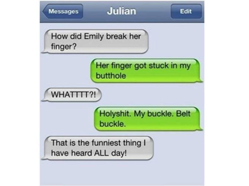 finger autocorrect fail