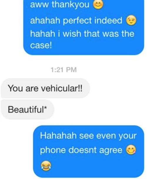 vehicular autocorrect