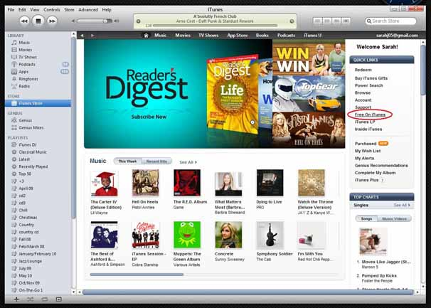 Free music for itunes without download