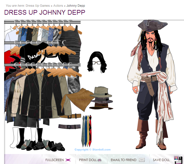 Dress Up Games Celebrity