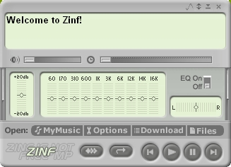 Zinf-Audio-Player