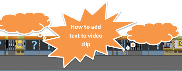 How to add text to video