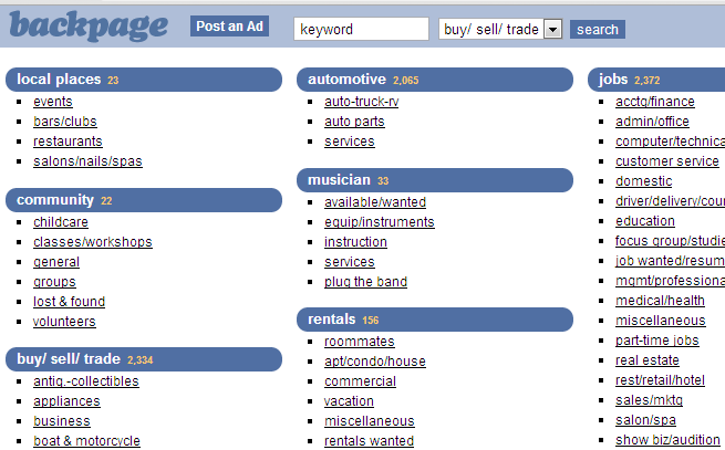 10 best personals dating sites free for Trading websites like craigslist