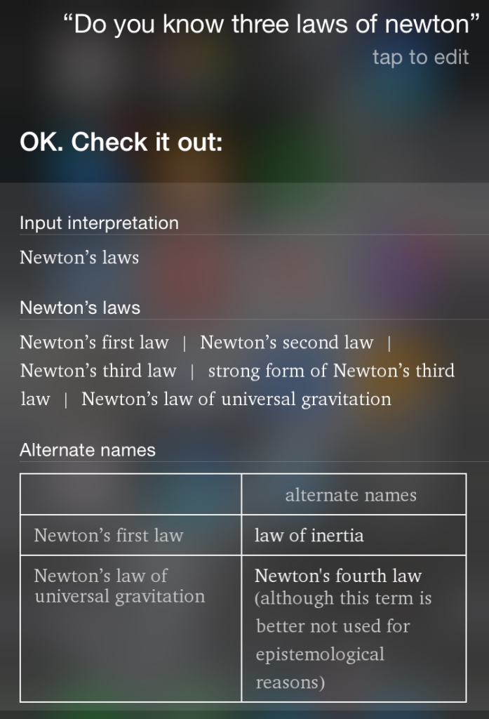 3 laws of newton