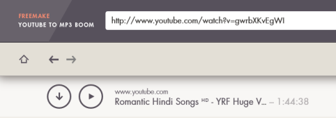 YouTube to MP3 Boom