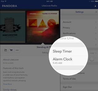 Pandora Radio Alarm Clock