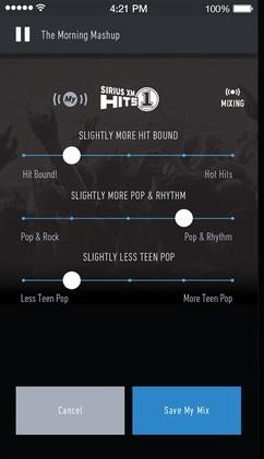 SiriusXM Radio Options