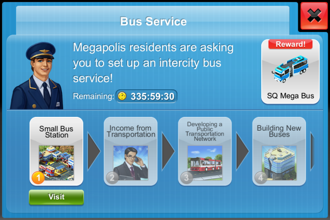 Megapolis Game: Build City of your Dream