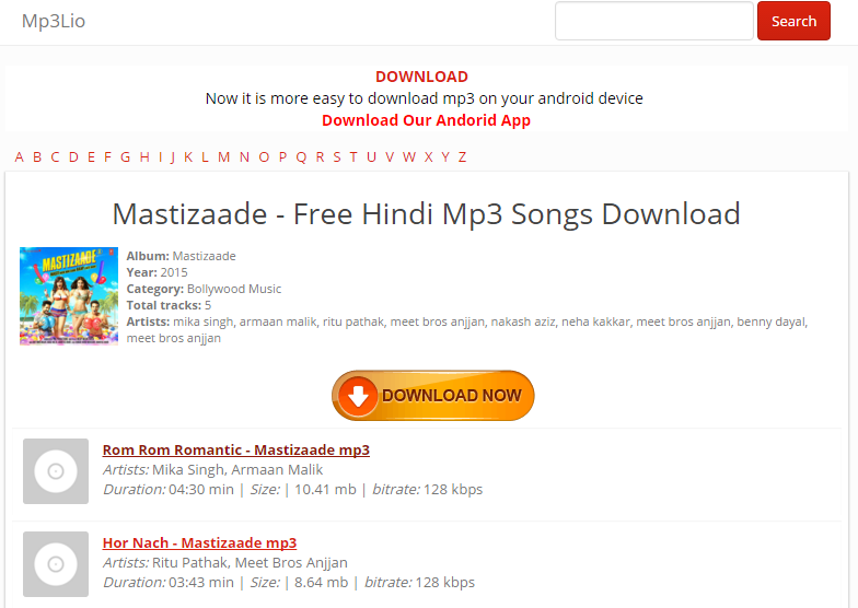 hindi songs download sites list