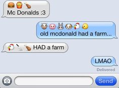 35 Funny Emoji Text Messages & Meanings - Freemake