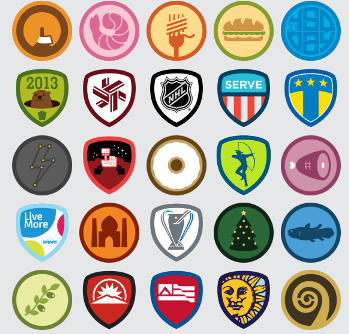 In the World of Foursquare Badges