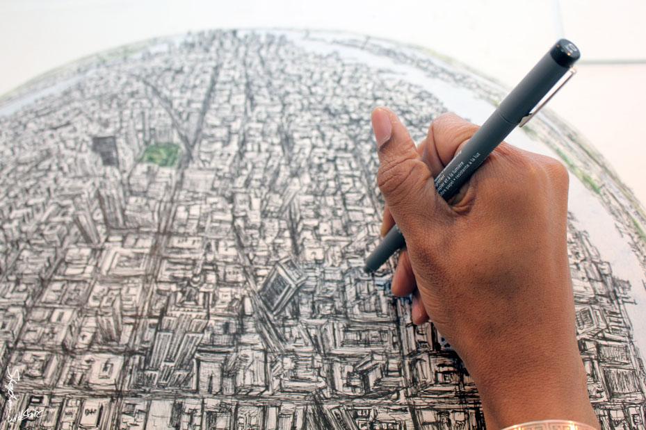 состав человек с фотографической памятью рисующий города был заявлен, как