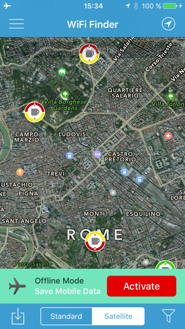Map WiFi & Wi-Fi Finder