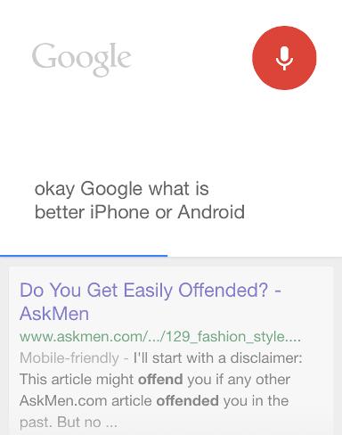 Funny OK google