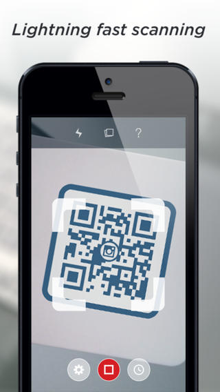 scan a qr code iphone