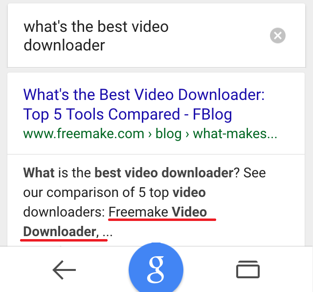 ok google whats the best video downloader