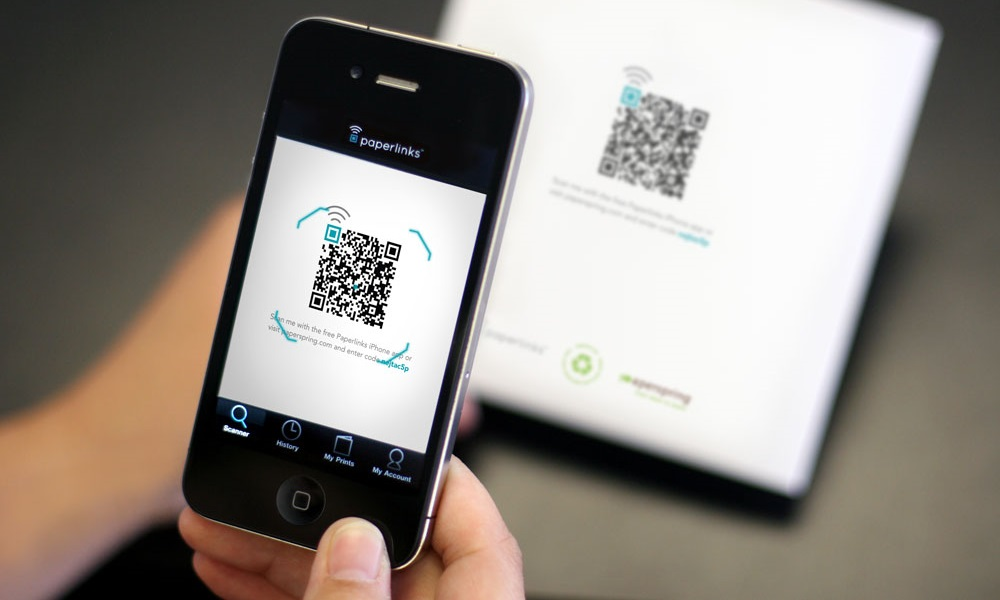 iphone qr code scanner