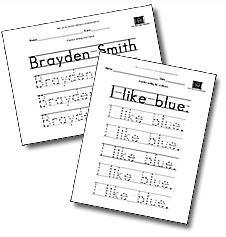 Teaching Worksheets