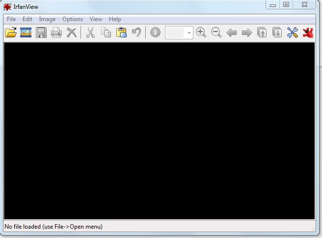 irfanview interface