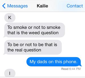 to smoke or not to smoke autocorrect