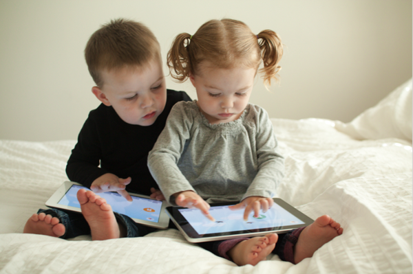 Image result for kids playing ipad