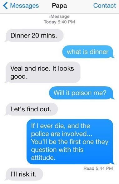 Funny Texts From Parents 26 Dad Mom Messages Freemake