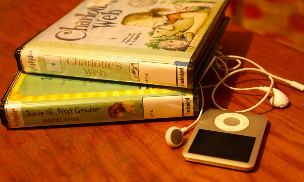 books and ipod