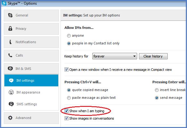 Skype remove pencil