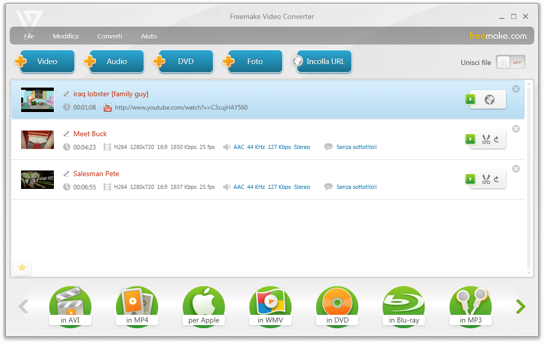 convertire video mp4 in avi massaggi per adulti