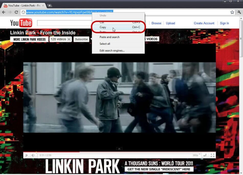 YouTube in MP3