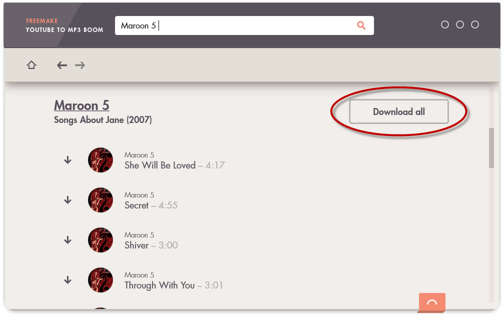 How to download full albums - Tutorial